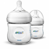 Philips Avent Natural 2.0 Baby Bottle 125 ml (Twin Pack) - SCF690/23