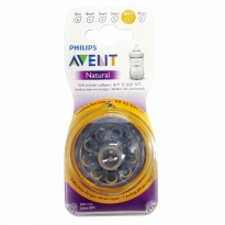 Philips Avent NEW Natural Dot 2 Pack - Fast Flow 6m+