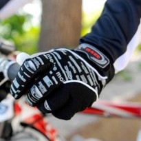 [globalbuy] NEW Winter articular Full finger Bicycle Cycling gloves road bicycle silicone /4525740