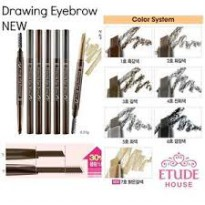 Etude house Drawing Eyebrow New 7 Colors Original from Korea