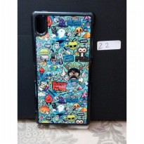 Aluminium Cartoon Doodle Case Xperia Z2 Free Stylus Pen