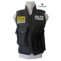 Rompi / Vest / Body Protector POLICE Turn Back Crime