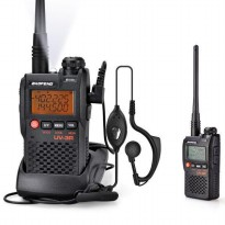 Baofeng Walkie Talkie Dual Band Two Way Radio 99CH 2W UHF+VHF - BF-UV3R HT Handie ORIGINAL