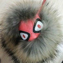 [GANTUNGAN KUNCI] 020943r Fendi Monster Fever Brown Monster Red Face 2