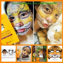 SNP Animal Mask Tiger HARGA PER 1 PCS MASKER ANIMAL