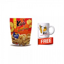 Koji Potato Wedges 70gr bundle 2 Free Mug Cantik