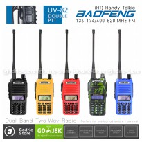 Baofeng Walkie Handy Talkie (HT) UV82/UV-82 Two-Way UHF/VHF Radio