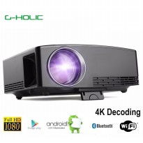 G-HOLIC GP80UP Android Smart Projector Mini Portable FullHD