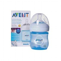 Avent Natural Bottle Blue 125ml Single - Botol Susu