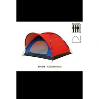 Tenda Dome Tenda Camping BNIX SY010 Single Layer Kapasitas 3-4 Person