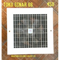 Maspion Ceiling Exhaust Fan Cef-20 Kipas Angin Hisap Langit 8 HargaPrommo05