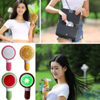 Portable Mini Fan Fruit AC Handheld Air Conditioner Sistem Cas Charge