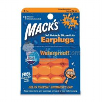 Macks Earplugs Color Orange