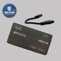 Rexus USB HUB Type C RXH C08 4 Port 3.0