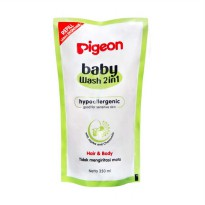Pigeon Baby Wash 2in1 Hair & Body Refill [350 ml]