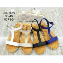 Sendal Tali Jelly - Double Strap / Flat Jelly Shoes