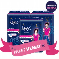 27PADS 32CM KOTEX SOFT&SMOOTH OVERNIGHT TRIMAX WING SLEEP CHALLENGE