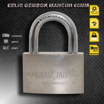 EELIC GEK-M60MM Gembok Serbaguna 60 MM Anti Air