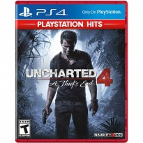 Uncharted 4 A Thief End Hits Edition Game PS4 (R3)
