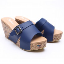3Models Dr.Kevin Women Wedges Sandals Leather