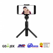 Xiaomi Mini Tripod + Tongsis/Monopod + Tomsis Bluetooth - 3in1 - Hitam