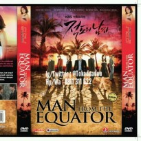 DVD Original Serial Korea MAN FROM THE EQUATOR