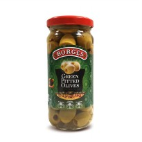 Borges Green Pitted Olives 230 g