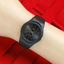 JAM TANGAN WANITA QNQ JELLY LADIES BLACK