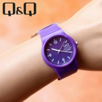 JAM TANGAN WANITA QNQ ORIGINAL GD700 - PURPLE