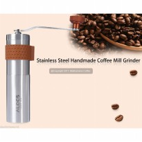 ALOCS CW-K17 Outdoor Home Travel Manual Stainless Coffee Grinder Mill