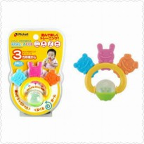 Richell Animal Friends Teether - Mainan Gigitan Bayi