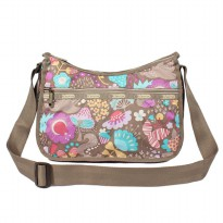 [Free Delivery] [Same day shipping] [LeSportsac - Classic Hobo _7520 D497 Garden Tale Pastel