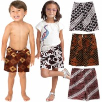 CELANA BATIK ANAK - ALL SIZE - BAHAN BATIK COTTON