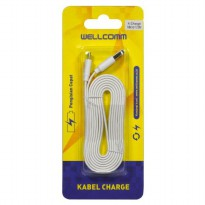 Wellcomm Kabel Data Flat Micro Usb