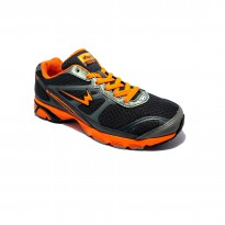 Eagle Ecolight Dark Grey Orange Sepatu Lari