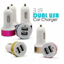 USB CAR CHARGER 2 SLOT