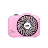 Remax F5 USB Mini Fan Camera Shape Cooling Fan Biru