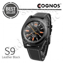 Cognos Smartwatch S9 - Heart Rate Stainless Black