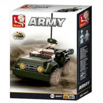 Lego Sluban Army 8 Into 1 Army Jeep
