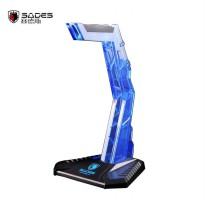 Sades Blood wolf stick gaming headphones Stand Hanger - Biru