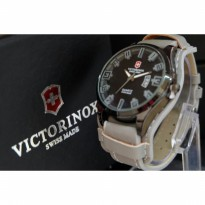 JAM TANGAN PRIA VICTORINOX LEATHER-GREY
