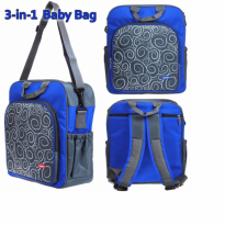 KIDDY Tas Bayi 3 In 1 Diaper Bag - best item