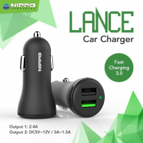 Hippo Lance Saver Car Charger Quick Charging 3.0