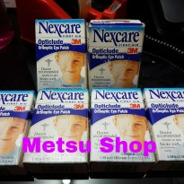 Nex care first aid opticlude orthoptic eye patching penutup plester mata