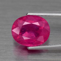 Good Color 2.06ct 8.5x7mm Natural Pink Sapphire Mozambique