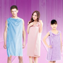 Wearable Towel/Baju Handuk Multifungsi/Dress Handuk (Ukuran Dewasa)