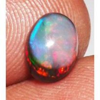 Batu Cincin 1.10 cts 100% Natural Untreated Ethiopian Fire Opal