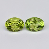 Best 1.3ct t.w 8x6mm Oval Natural Untreated Green Peridot