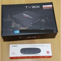 Android TV Box MXQ Pro 4K Full HD Quad Core + Air Keyboard Mouse