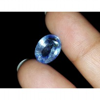 Wonderful 4.00 Ct Natural Excellent Blue Safir Ceylon + Memo GGL
